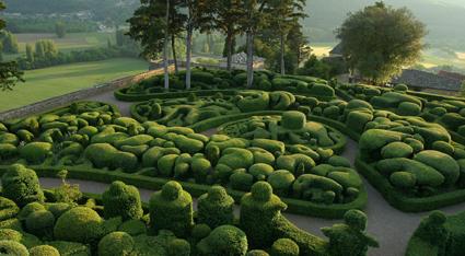 Jardins suspendus de Marqueyssac (Dordogne)